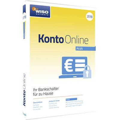 WISO Konto Online Plus 2018 Full version, 1 license Windows Finance & Accounting