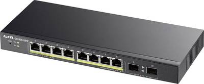 ZyXEL 10x GE GS1900-10HP 8x PoE Ports, 2x SFP Network switch 10 ports