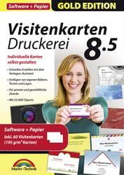 Markt Technik Visitenkarten Druckerei 8 5 Mit Papier Full