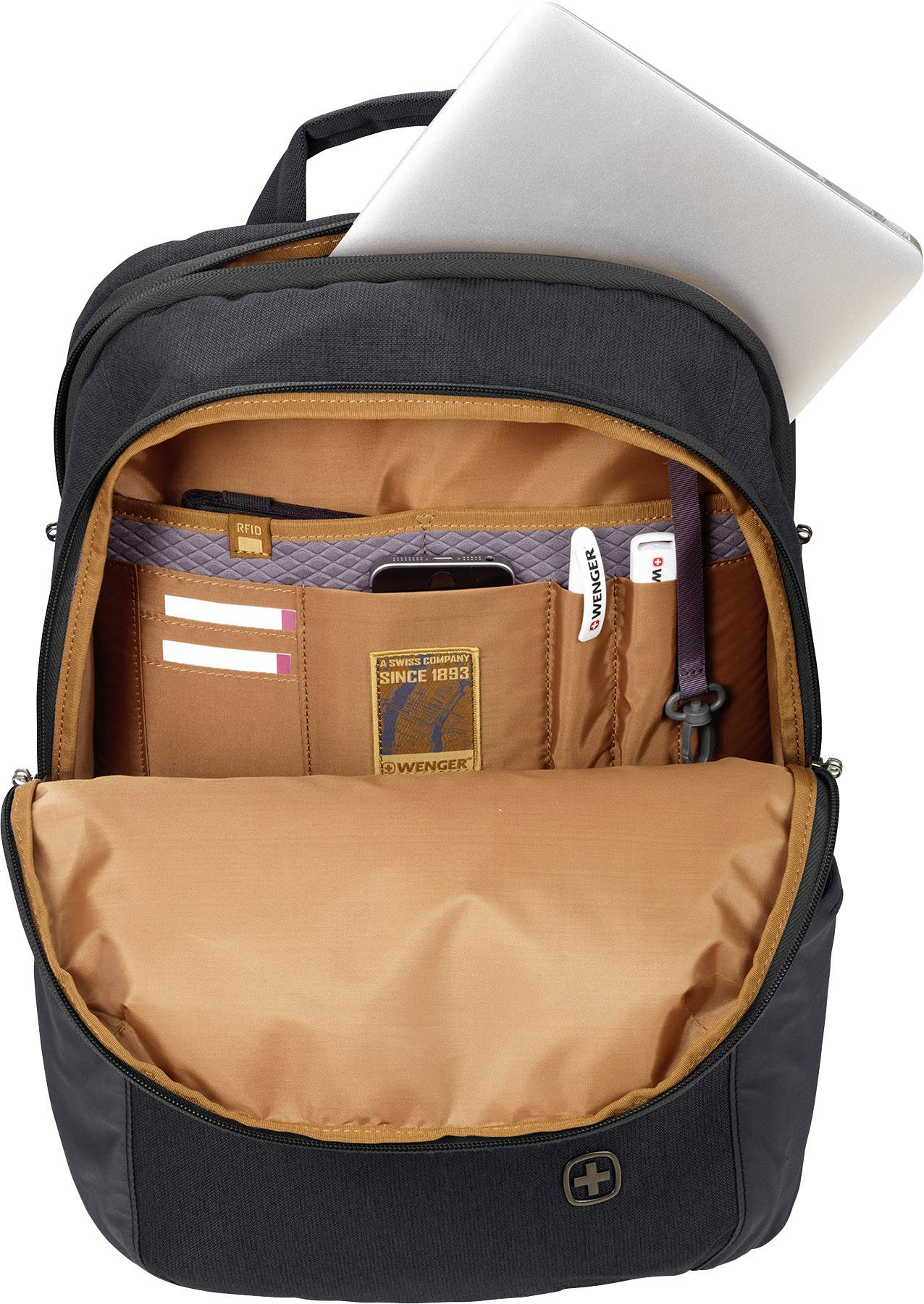 8986dbd146 Wenger Laptop backpack CityGo Suitable for max  39