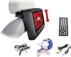 Nakkestøtte DVD-afspiller med skærm Caliber Audio Technology MHD109 Skærmstørrelse=22.86 cm (9 )