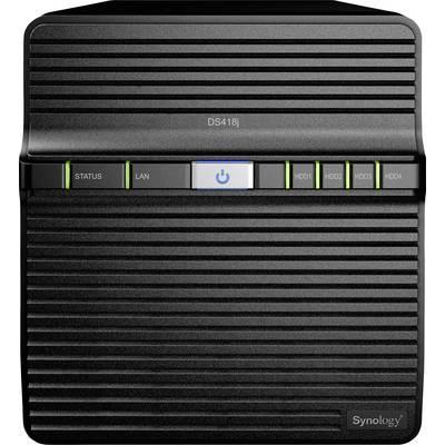 Synology DiskStation DS418J NAS server casing 4 Bay
