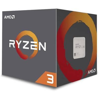 Boxed processor AMD Ryzen 3 1200 4 x 3.1 GHz Quad Core PC base: AMD AM4 65 W