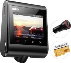 Dashcam med GPS Anker AK-R2120 Betragtningsvinkel horisontal=145 ° 12 V Display, Batteri, Kollisionsadvarsel, WLAN