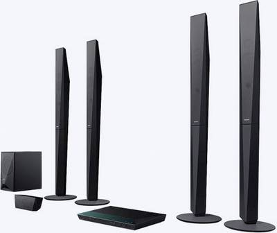 Image of 5.1 3D Blu-ray home cinema system Sony BDV-E6100 Black Bluetooth, NFC, Wi-Fi