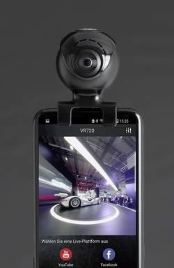 Image of Additional camera dnt VRCAM720 Pirateblack Black
