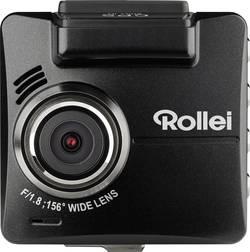 Dashcam med GPS Rollei DVR-318 Betragtningsvinkel horisontal=156 ° 12 V, 24 V Batteri, Mikrofon, Display