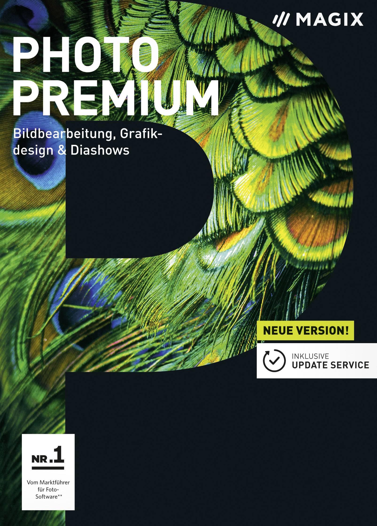Magix Photo Premium Full version, 1 license Windows Illustrator
