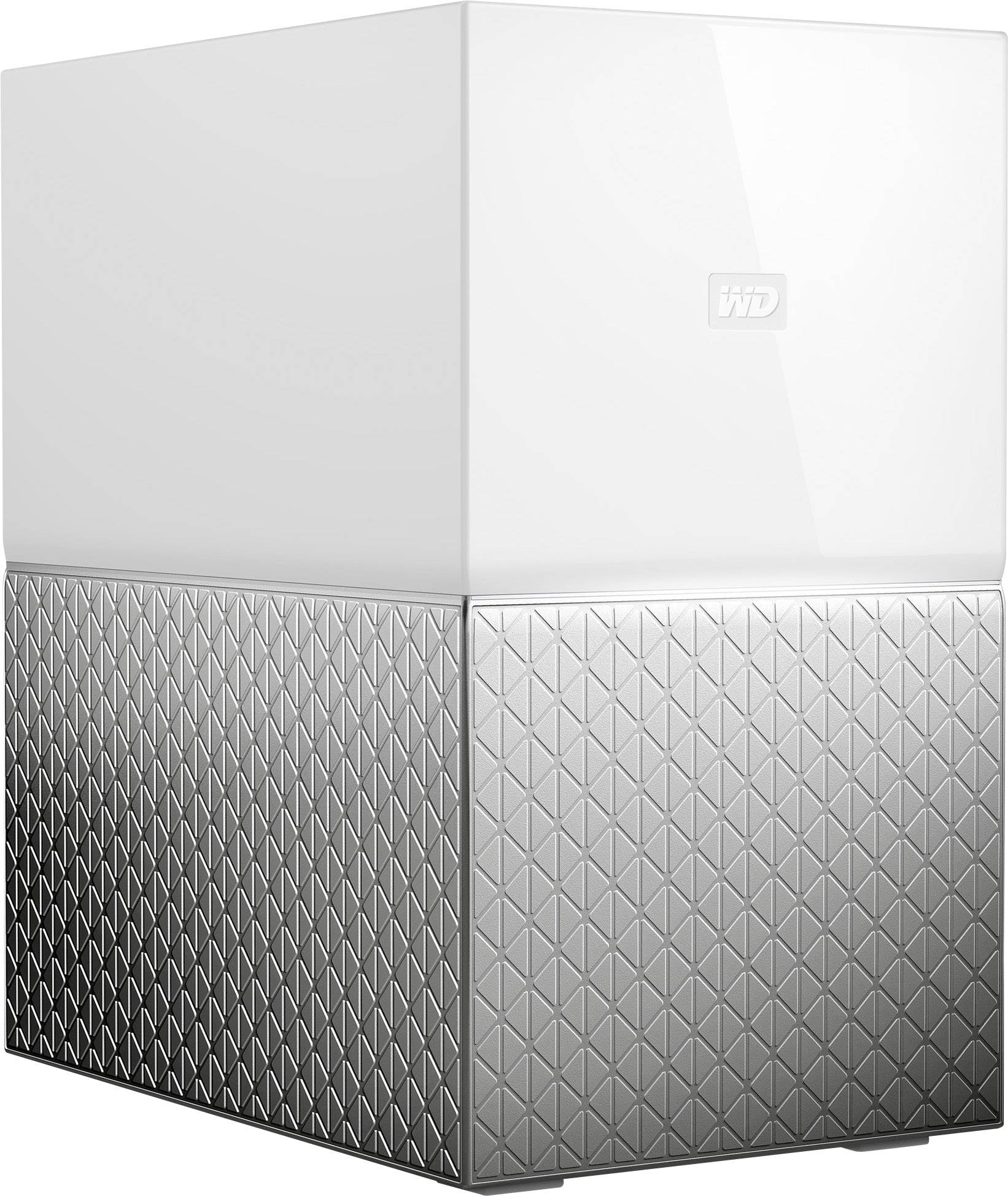 WD My Cloud™ Home Duo WDBMUT0080JWT-EESN Media storage 8 TB RAID-compatible
