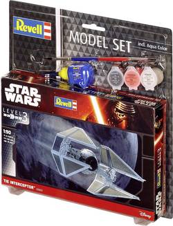 Science Fiction byggsats Revell Tie Interceptor 63603