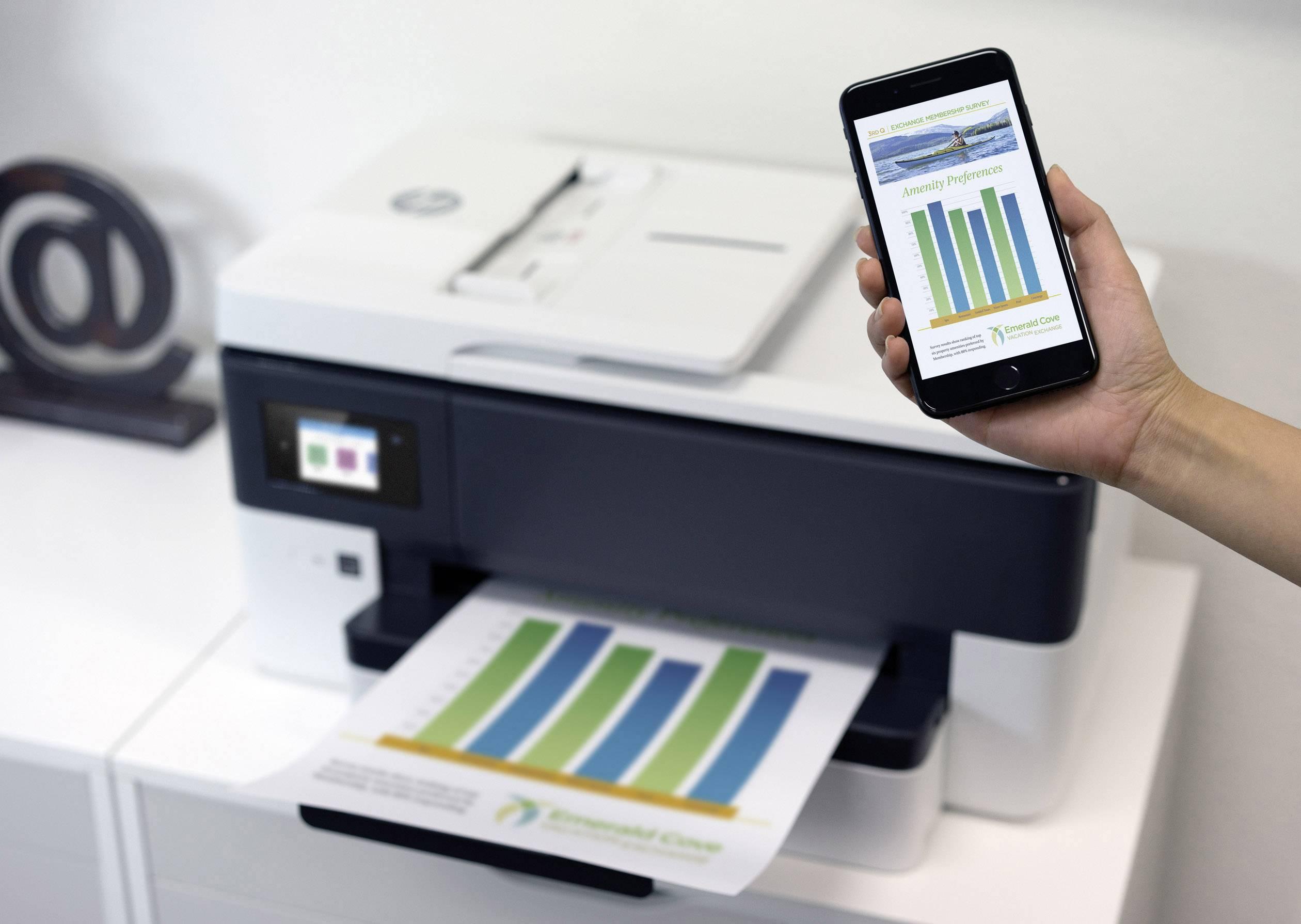HP Officejet Pro 7720 Wide Format All-in-One Inkjet