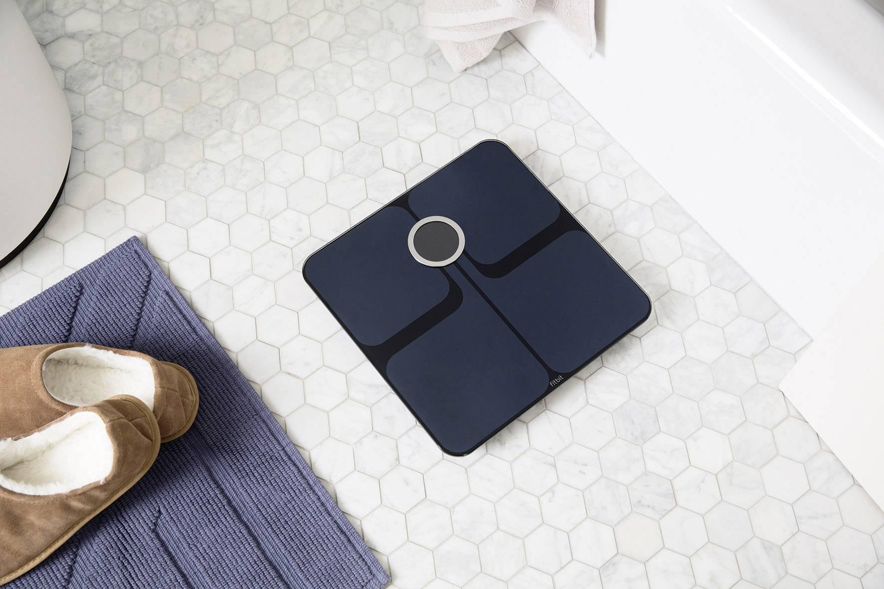 FitBit Aria 2 Black Analytical scales Weight range=150 kg Black ...