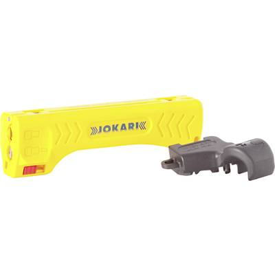 Cable stripper Suitable for Coaxial cables 4.8 up to 7.5 mm RG6, RG59/U, RG58 Jokari T30110
