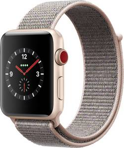 Apple Watch Series 3 Cellular 42 mm Aluminium Gold cheapest retail price