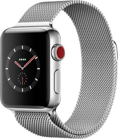 Apple Watch Series 3 Cellular 38 mm Stainless steel Steel cheapest retail price