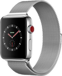 Apple Watch Series 3 Cellular 42 mm Stainless steel Steel cheapest retail price