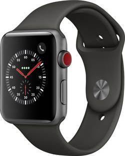 Apple Watch Series 3 Cellular 42 mm Aluminium Spaceship grey cheapest retail price