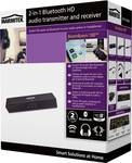 BoomBoom 100 - audio receiver and transmitter in 1 ; Bluetooth ; AAC, aptX & aptX Low Latency ; digital and analogue inputs and outputs ; multipair party mode (2P.)