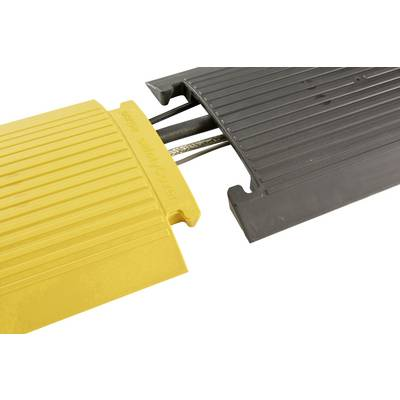 Serpa Cable bridge TPU Black, Yellow No. of channels: 1 350 mm Content: 1 Set