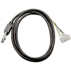 Højvolt-skinnesystem-komponenter Strøm-tilførsel med kabel SLV D-Track D-Track 9.4 cm Sort