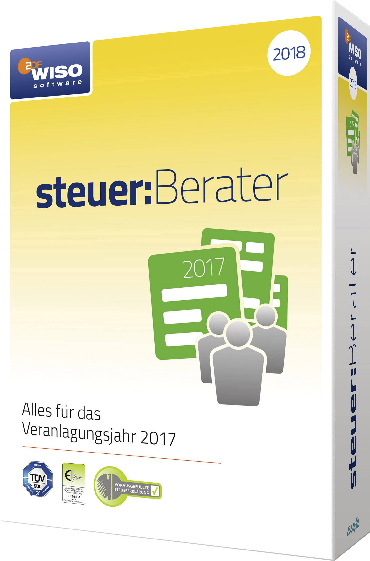 Wiso Steuer Berater 2018 Full Version 1 License Windows