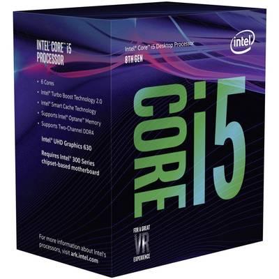 Intel® Core™ i5 i5-8400 6 x 2.8 GHz Hexa Core Boxed processor PC base: Intel® 1151v2 65 W