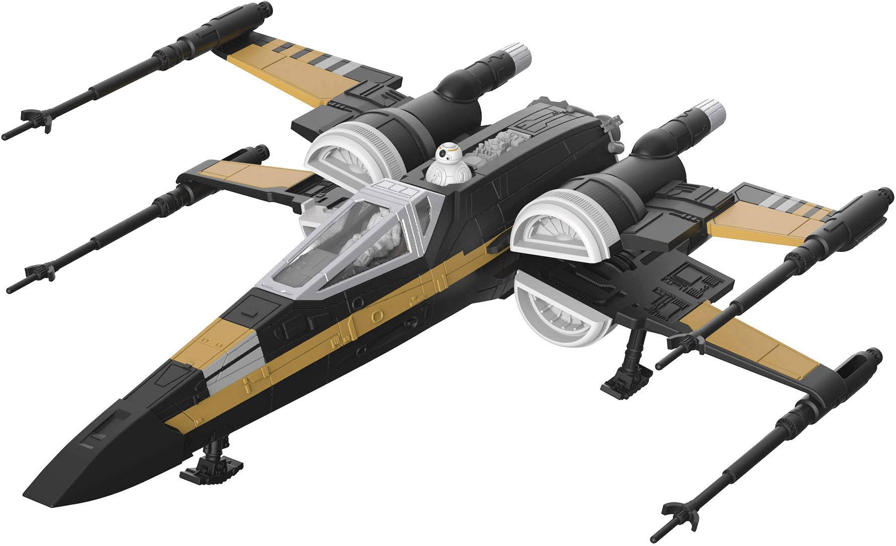 Revell 06763 Build & Play Poe's Boosted X-Wing Fighter Sci
