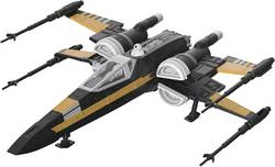 Science Fiction byggsats Revell Build & Play Poe's Boosted X-Wing Fighter 06763 1:78