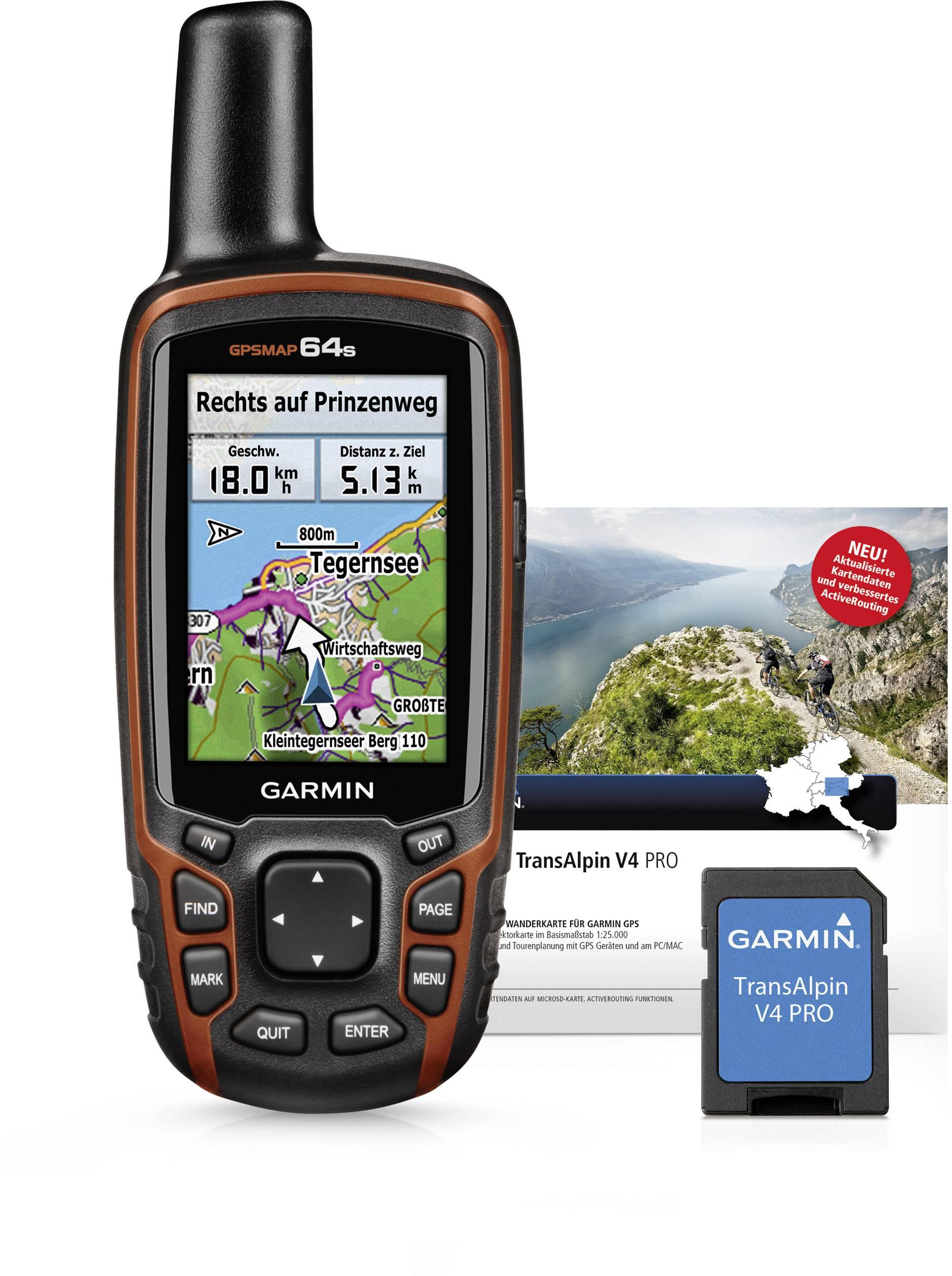 Garmin GPSMap 64s + TOPO Deutschland V8 Pro Outdoor GPS