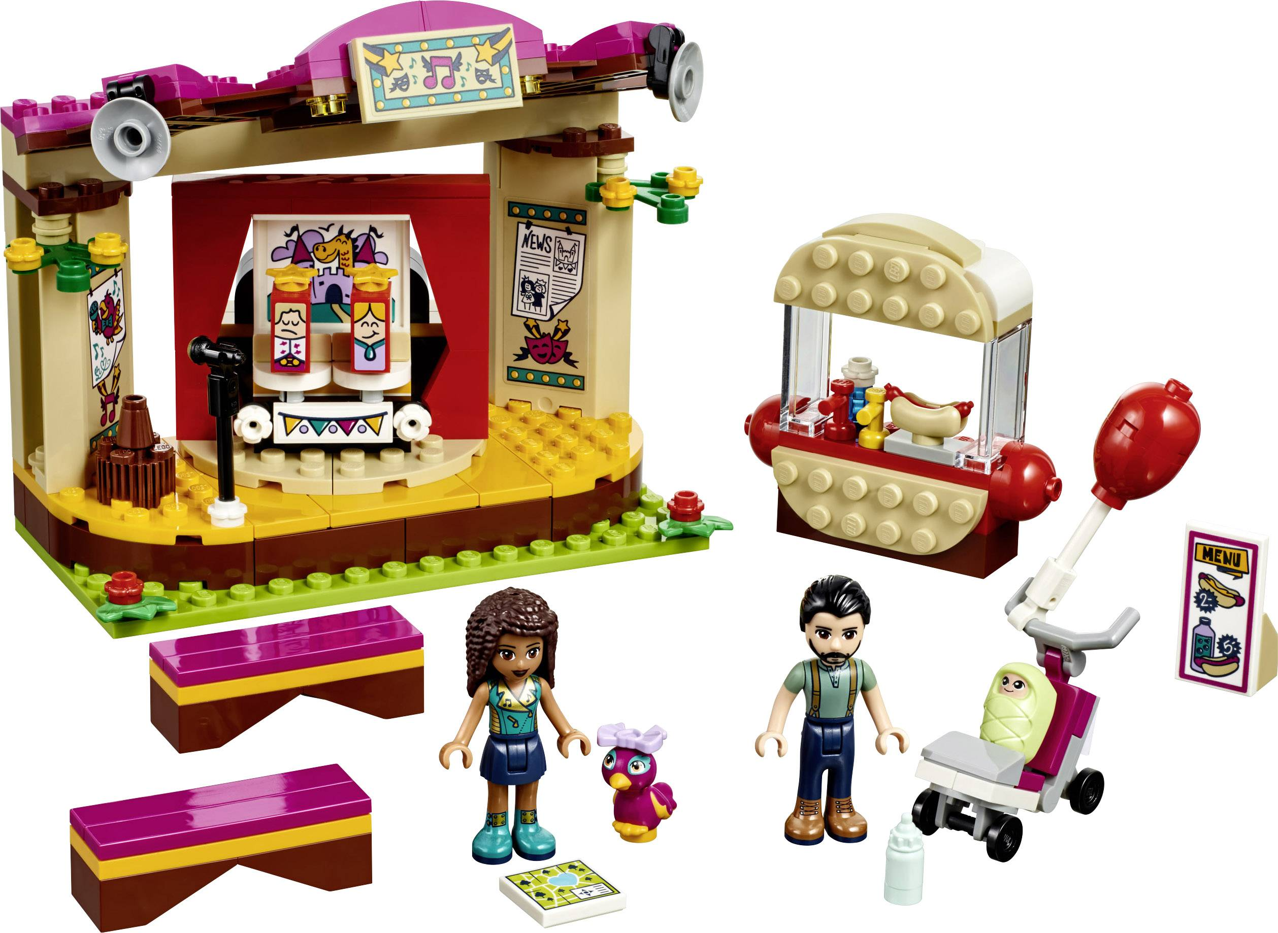 New 41334 Lego Friends MiniFigure BABY DIANA