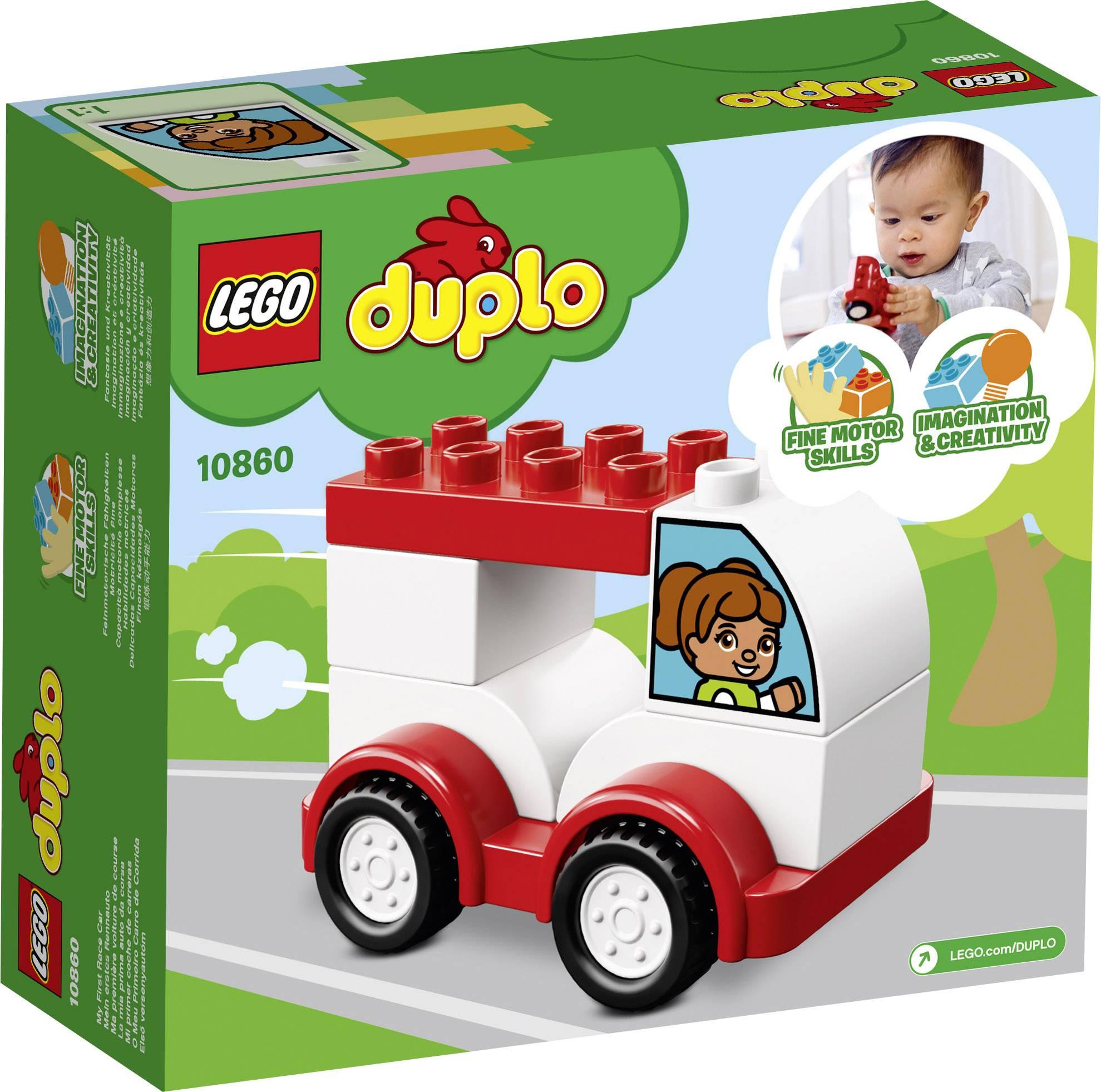 Lego Duplo 10860 My First Racing Car Conradcom