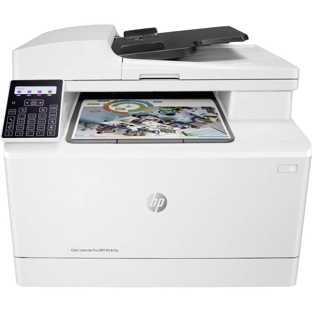 HP Color LaserJet Pro MFP M181fw Colour laser multifunction printer A4