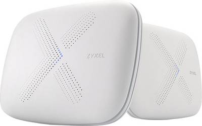 ZyXEL Multy X WSQ50 Tri-band Mesh WLAN System Pack of 2 Mesh network 2.4 GHz, 5 GHz