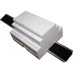 DIN-skinnekabinet Axxatronic CNMB/6/KIT/ACTIVE25-CON Til montering på DIN-skinne. 58 x 106 x 90 Polycarbonat Grå 1 stk