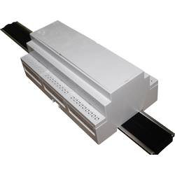 DIN-skinnekabinet Axxatronic CNMB/9/KIT/ACTIVE25-CON Til montering på DIN-skinne. 58 x 159 x 90 Polycarbonat Grå 1 stk