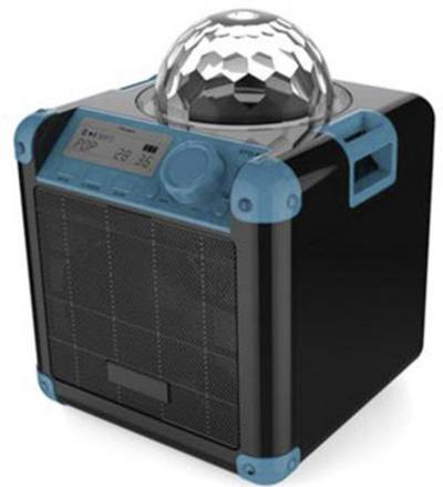 Image of X4 Tech Bobby Joey Boomstar Bluetooth speaker Aux, USB Black, Blue