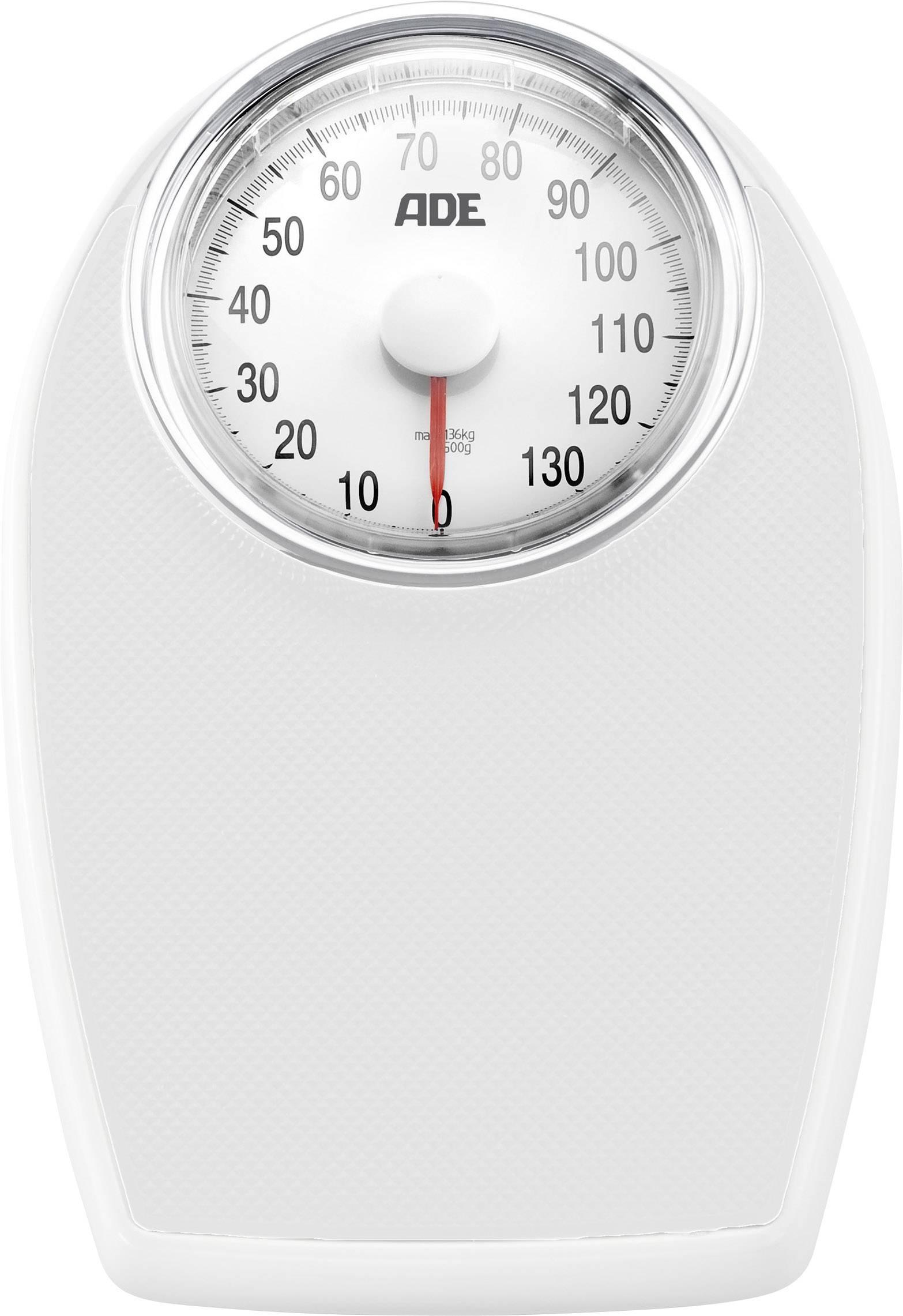 Ade Bm 701 Viktoria Analog Bathroom Scales Weight Range 136 Kg White