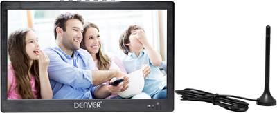 "Image of Denver LED-1031 Portable TV 25.6 cm 10 "" Battery-powered Black"
