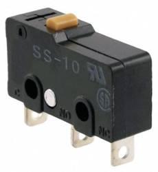 Mikrokontakt 125 V/AC 10 A 1 x On/(On) Omron SS-10 IP40 Tastende 1 stk
