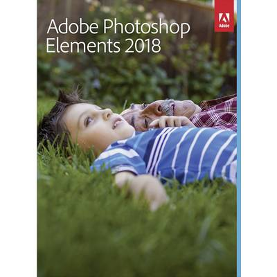 Image of Adobe Photoshop Elements 2018 Upgrade, 1 licence Mac OS, Windows Illustrator