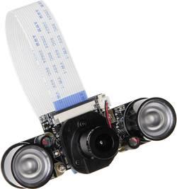 Raspberry Pi® Extension Board Joy-it IR-Pro 5MP IR CUT inkl. LED Strahler Svart