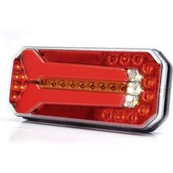 LED Anhænger-baglygte WAS bagved, benstre, højre flerfarvet