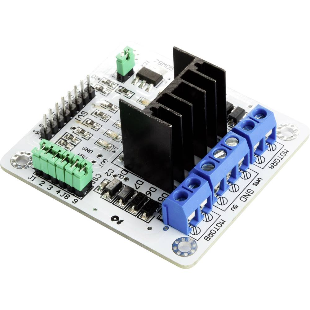 Maker Factory L298n Dual H Bridge Stepper Motor Driver Module From L298 Circuit Diagram