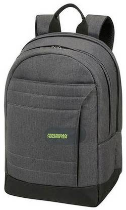 """Image of American Tourister Laptop backpack SONIC SURFER Suitable for max: 39,6 cm (15,6"""") Grey, Lime"""