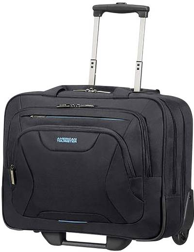 "Image of American Tourister Wheeled laptop travel bag AT WORK Suitable for max: 39,6 cm (15,6"") Black"