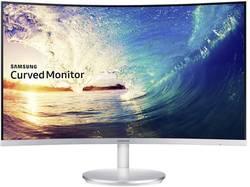LED-skærm 68.6 cm (27 ) SamsungC27F591FDUATT.CALC.EEK B;1920 x 1080 pixFull HD4 msVGA, HDMI™, DisplayPort, Audio, stereo