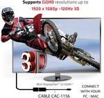 Club 3D Mini DisplayPort 1.1 to HDMI 1.4 VR Ready passive adapter
