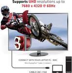 Club 3D Mini DisplayPort 1.4 HBR3 8K 60 Hz Cable plug/plug 2 m