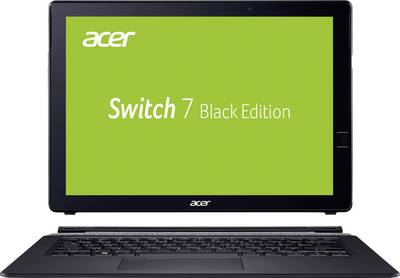 Image of Acer SWITCH 7 SW713-51GNP-87M8 34.3 cm (13.5 ) Laptop Intel Core i7 16 GB 512 GB SSD Nvidia GeForce MX150 Windows® 10 Pro Black