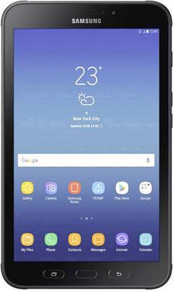 Android-tablet 8  Samsung Galaxy Tab Active GSM/2G, UMTS/3G, LTE/4G Sort
